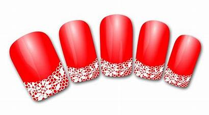 Manicure Clipart Clip Nail French Stickers Decal
