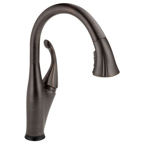 Single Handle Pull Down Kitchen Faucet with Touch2O® and