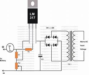 12 Volt Battery Charger Diagram  G U00f6r U00fcnt U00fcler Ile
