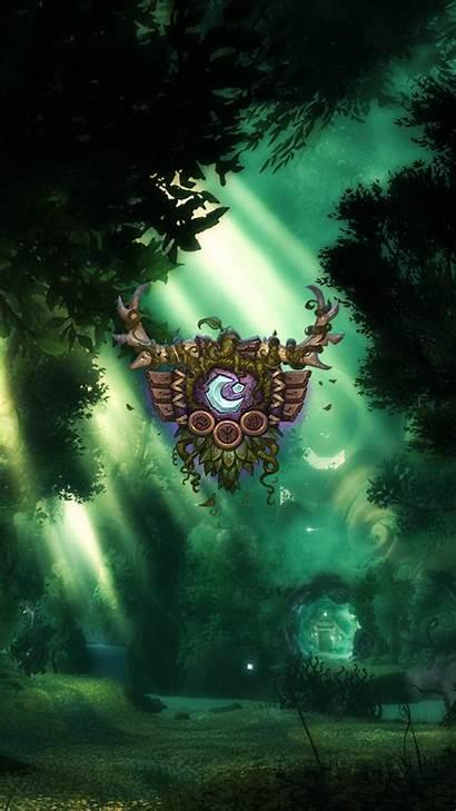 Druid Warcraft Wow Wallpapers Iphone Artwork Legion
