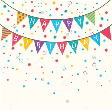 Birthday Banner Template by 21 Birthday Banner Templates Free Sle Exle