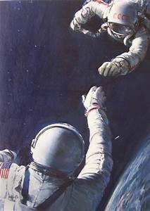 NASA Space Art – John Berkey Art