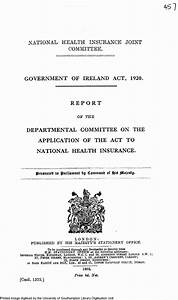enhanced british parliamentary papers on ireland With government documents on health