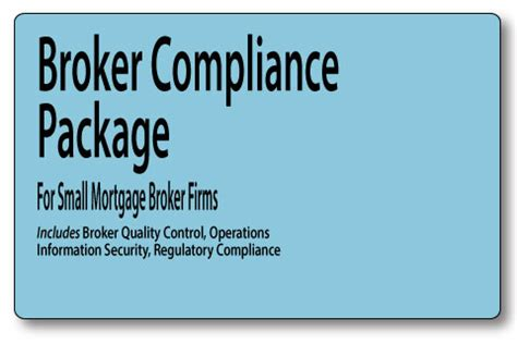 Anti Money Laundering Sar Reporting Mortgage Policies Broker Compliance Package