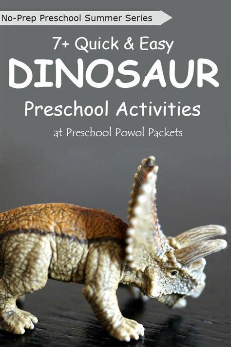 no prep preschool dinosaur science experiments and 748 | 80fde2be581b47d3f934f1bd97f8620e