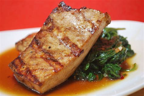grilled tofu asian grilled tofu with quick stir fried greens savoryreviews
