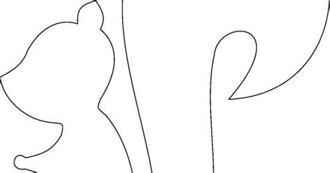 eichhörnchen zum basteln vorlage zum ausdrucken und ausmalen abstrakte eichh 246 rnchen applikationen