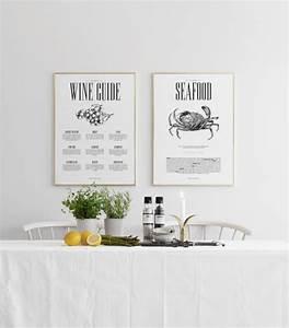 Poster Für Küche : poster f r die k che wine guide k chenposter stilvolles ~ Michelbontemps.com Haus und Dekorationen