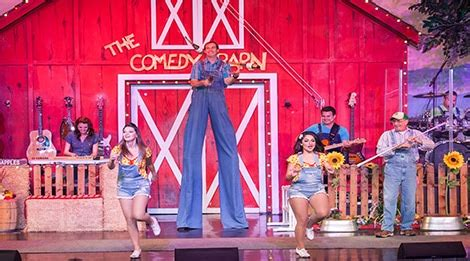 Laughing Comedy Barn - comedy barn theater in pigeon forge tn