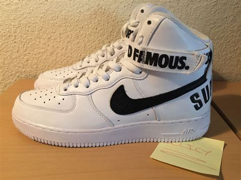 air supreme supreme x nike air 1 hi collection weartesters
