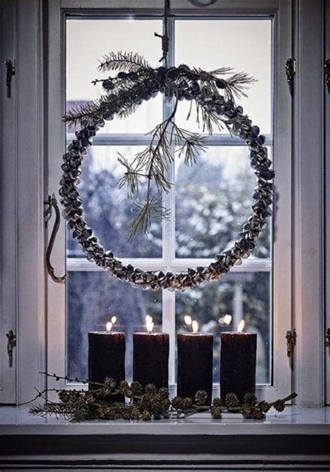 christmas wreaths for windows 20 stunning window decorations for christmas festival around the world
