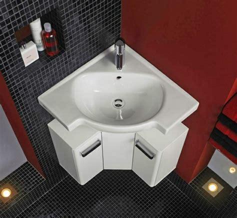 eckwaschbecken mit unterschrank fuers badezimmer