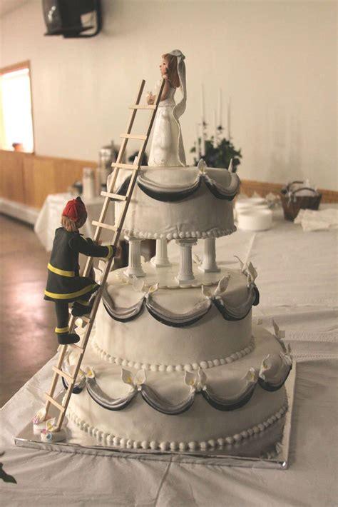 fireman wedding cake toppers  hd wedding