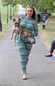 Lauren Goodger Attends Dog Charity Event With Her Cute Pooch Coco Daily Mail Online