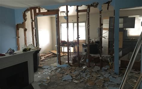 how to remove a load bearing interior wall trilevel update and how to remove a load bearing