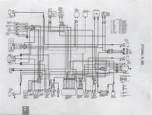 Incorrect Wiring Diagram Xt250 1983