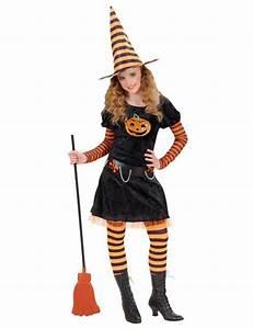 Halloween Kostüm Kürbis : s e k rbis hexe kinder kost m schwarz orange hexenkost me f r ~ Frokenaadalensverden.com Haus und Dekorationen