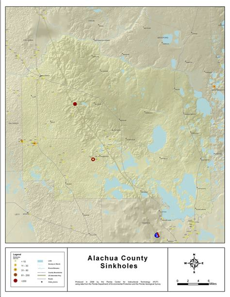 Sinkholes Alachua County Fl sinkholes of alachua county florida 2008