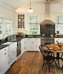 White, Kitchens, For, Vintage, Homes