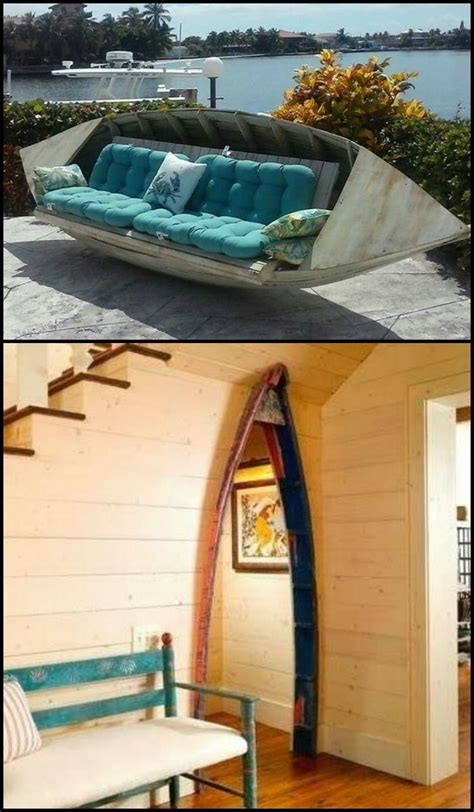Old Boat Repurpose by Have A Look At These Ten Amazing Ways To Repurpose Old