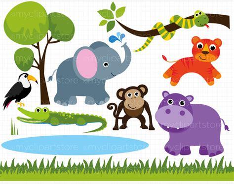Clip Art Zoo Animals