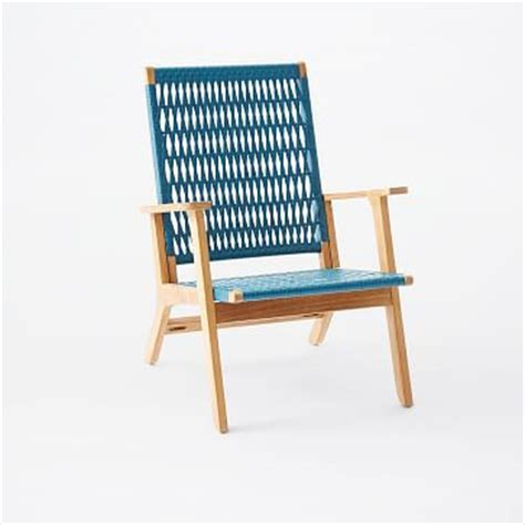 catskill wood wicker chair teakteal west elm