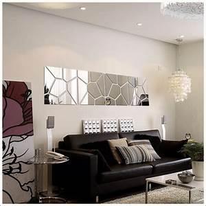 Miroir Deco Salon : espelho acr lico de parede para sala design geom trico 24 ~ Melissatoandfro.com Idées de Décoration