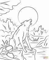 Coloring Pages Werewolf Goosebump Printable Drawing Games Silhouettes Crafts sketch template