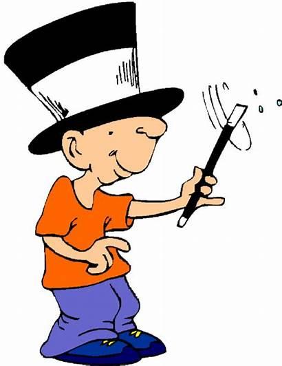 Clipart Magic Clip Magician Tricks Trick Cliparts