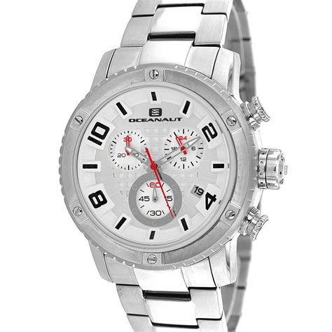 Oceanaut Men's Impulse Silver Dial Watch - OC3121 ...
