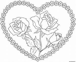 Dessin Saint Valentin : coloriage coeur mariage gratuit ~ Melissatoandfro.com Idées de Décoration