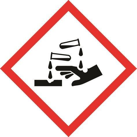 safety box for home international corrosive symbol sign dangerous