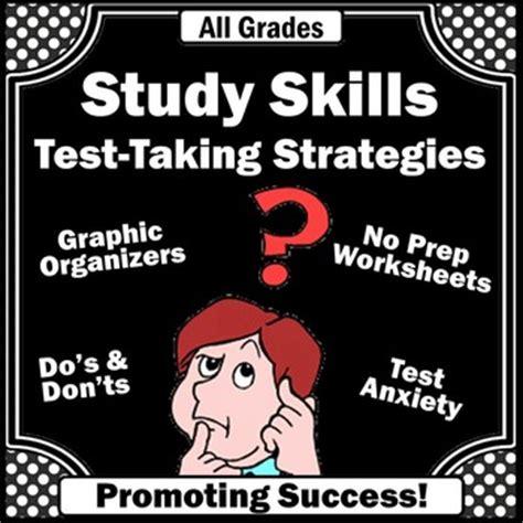 study skills activities test  strategies special
