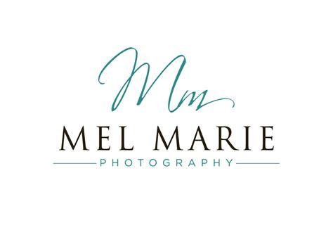 Logo Design For Mel Marie Photography By Cherry Pop Design