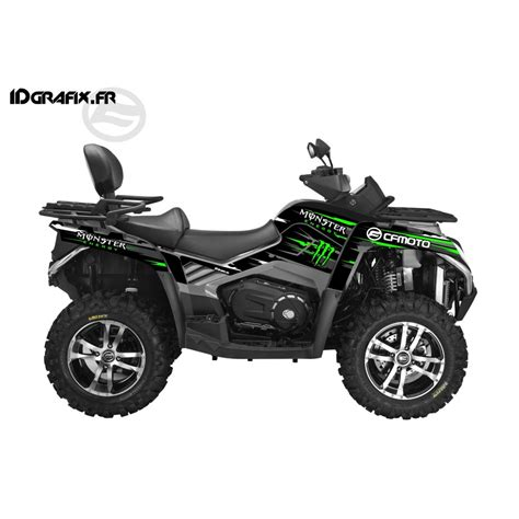 kit deco 100 custom green cf moto cforce 800 idgr