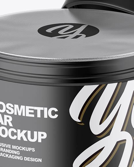 Another high quality freebie for today is a 5 gallon paint bucket mockup set. Matte Plastic Container Label Mockup Front View High Angle ...