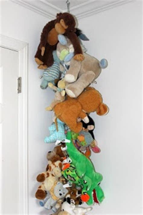 creative ways  store  display stuffed animals