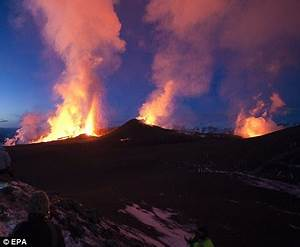Climate change 'could spark more volcanoes, earthquakes ...