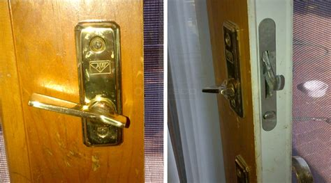 andersen sliding door lock the thumb lock on my andersen sliding glass door is