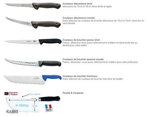 bon couteau de cuisine sogests couteaux de boucher couteau de cuisine professionnel matériel de boucherie tablier