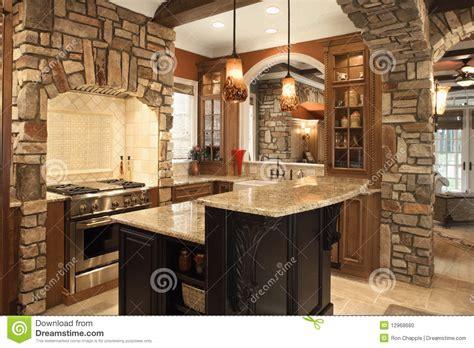 le de cuisine intérieur de cuisine avec les accents en dans ho