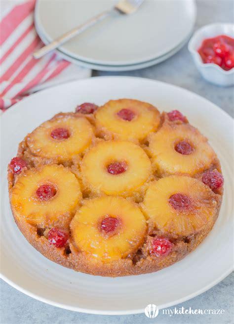 pineapple upside  cake  recipe video  kitchen craze
