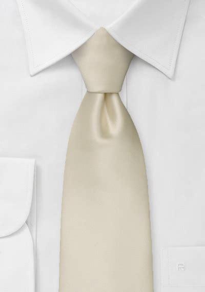 formal mens tie  solid cream bows  tiescom