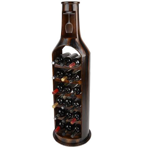 5 bottle wine rack christow luxury wooden 18 bottle wine rack this is it