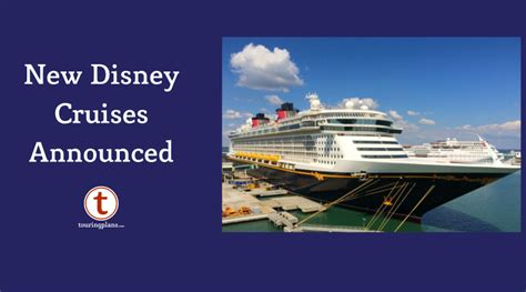 disney cruise announces fall itineraries touringplanscom blog