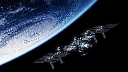 Space Satellite Station Planet 4k Wallpapers Resolution