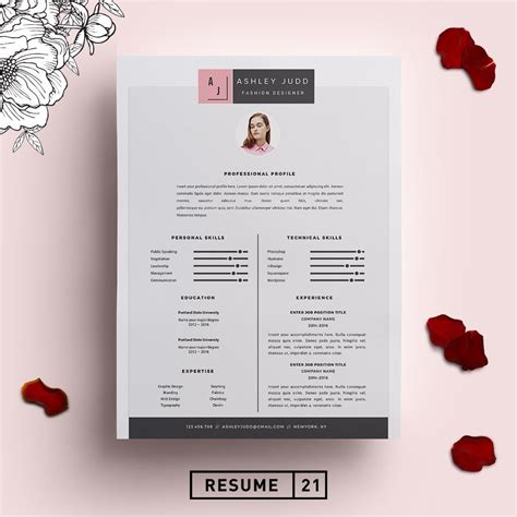 fashion designer resume template cv resume templates
