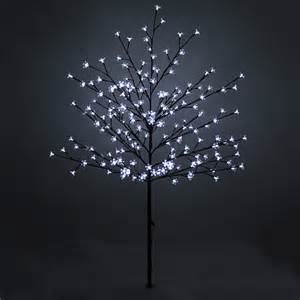 150cm 59 quot 200 led lights outdoor blossom tree outdoor pre lit christmas tree ebay