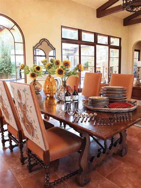 Italian Dining Room In Rustic Style #71748 House