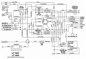 Wiring Diagram For Cub Cadet Lt1042
